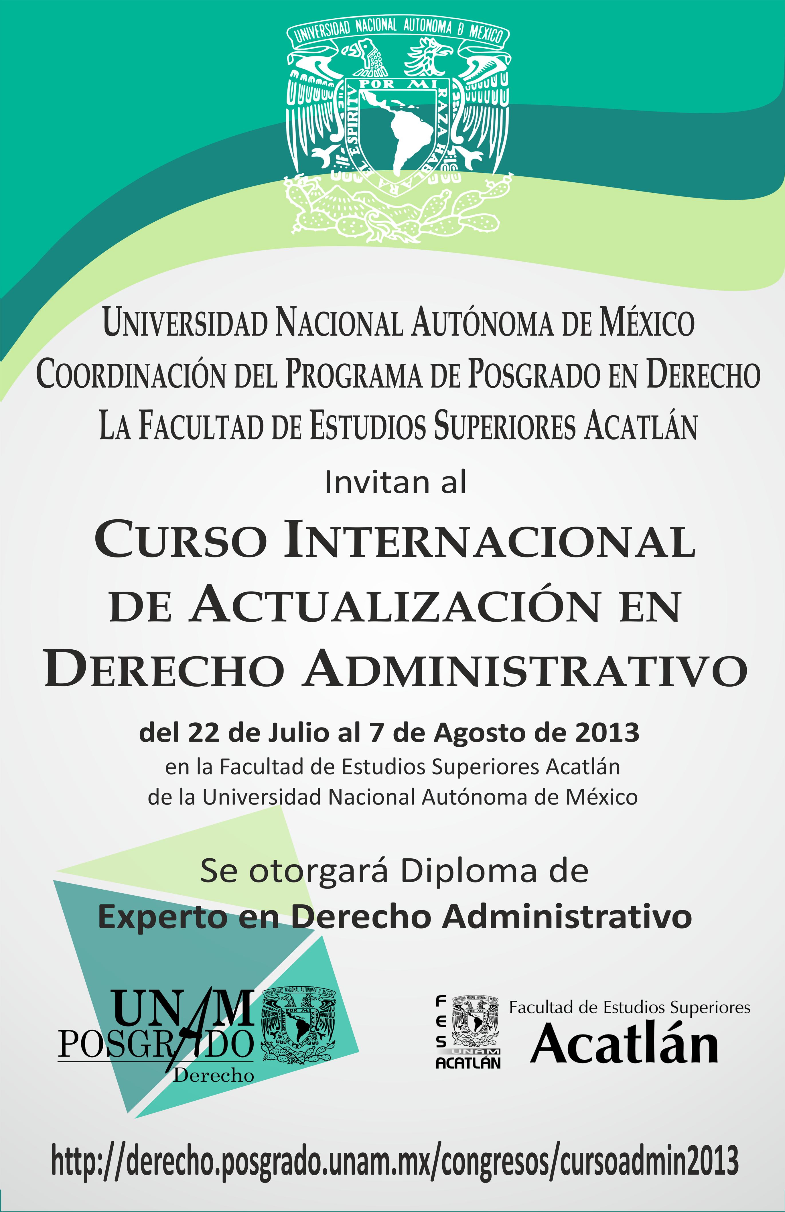 Curso Internacional De Actualizaci 243 N En Derecho Administrativo 2013